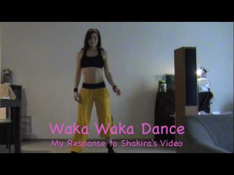Zumba Waka Waka My Response video
