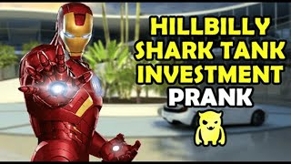 Hillbilly Shark Tank Investment Prank - Ownage Pranks