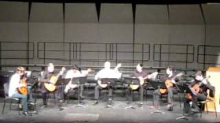 Noches de Luna played by Capilano University Guitar Ensemble