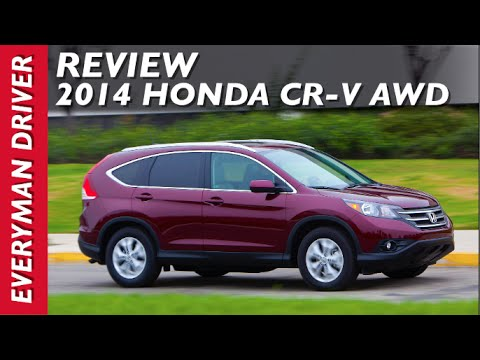 Review: 2014 Honda CR-V AWD on Everyman Driver