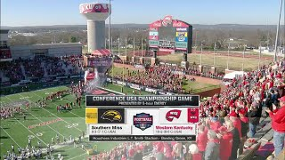 C-USA Championship 2015 Southern Miss vs Western Kentucky