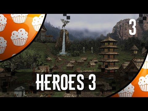 Heroes 3.  Twaryna, Dread, Cake.  Part 3