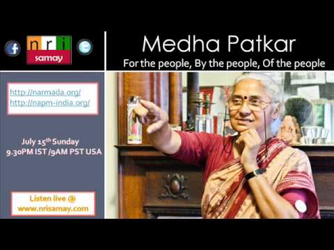 Live with Medha Patkar - For the People, By the People and Of the People