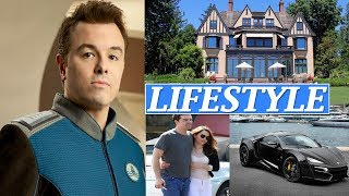 Seth Macfarlane Lifestyle, Net Worth, Wife, Girlfriends, Age, Biography, Family, Car, Facts !