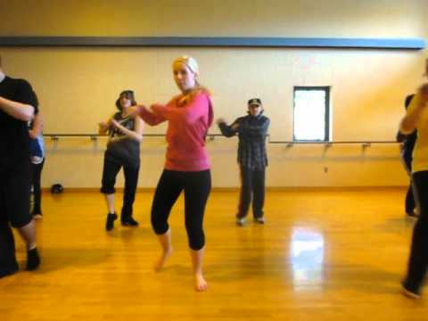 Broome Community College (BCC) Dance Class (Spring 2012) Demo Day - (Dance 1/4) - International Love