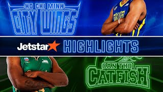 Highlights VBA 2019 || Game 10: Hochiminh City Wings by Jetstar vs Cantho Catfish | 16.06