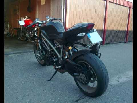 Ducati Streetfighter S with Termignoni Video