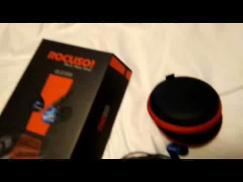 ROCUSO Earbud Headphones with Microphone, Deep Bass and Stereo