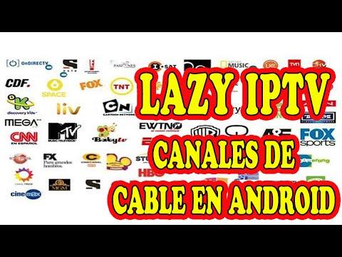 Lazy iptv Canales de Telecable en tu android 2015
