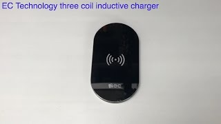 EC Technology Three Coil Inductive Charger