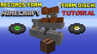 [Minecraft - Tutorial] Farm di Dischi - Records Farm