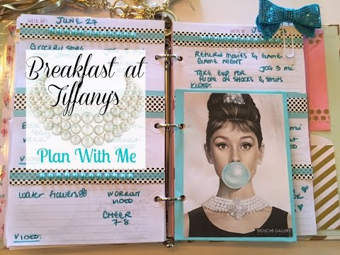 Plan With Me | TDS Planner | BREAKFAST AT TIFFANY'S THEME