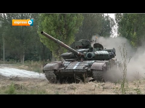 Battalion Dnipro Fights Near Donetsk