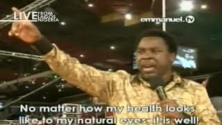 MUST PRAY: POWERFUL MASS PRAYER With TB Joshua. Emmanuel TV
