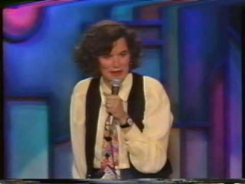 Paula Poundstone -1- Opening, San Francisco, Cars, Cops, Butt Camera