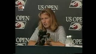 1996 US Open Final Steffi Graf vs Monica Seles Part 1