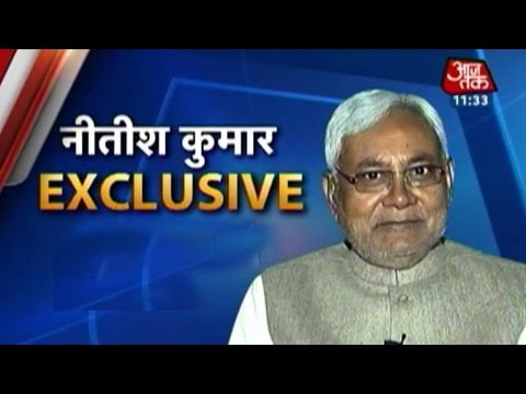 Exclusive interview with Nitish Kumar on Bihar crisis