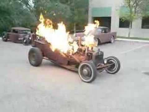 Greg Baum's 1919 Willy's T, Rat Rod