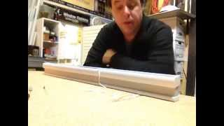 How to restring a Levolor - Kirsch cordless honeycomb shade, Part 1