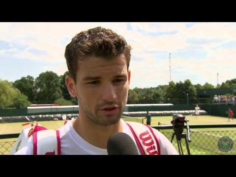 Grigor Dimitrov looking forward to Murray test - Wimbledon 2014