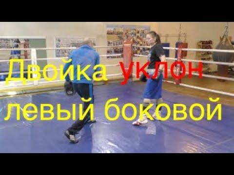 Бокс: двойка - уклон - левый сбоку