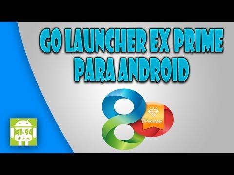 Go Launcher EX Prime para Android [Instalación/Review/Pack Temas] por MiSoTa94