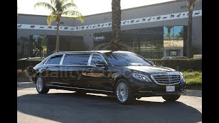 "2017 Mercedes-Benz S550 Maybach 72"" Limo Limousine"