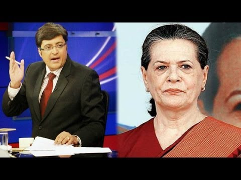 The Newshour  Debate: Sonia Gandhi's televised appeal counter jibe - Full Debate (15th April 2014)
