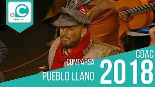 Comparsa, Pueblo llano - Preliminares