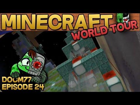 Minecart Elevator — The Minecraft World Tour — S4E024 | Docm77