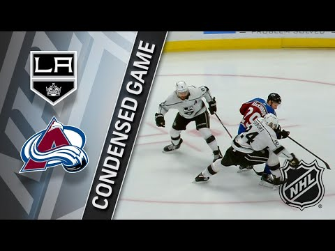 032218 Condensed Game: Kings @ Avalanche