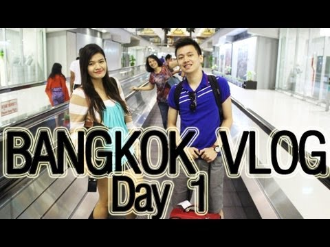 BANGKOK 2013 TRAVEL VLOG: Day 1 (Airport + Hotel) | makeupbykarlamisa