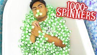 download lagu 1000+ Fidget Spinner Bath Challenge gratis