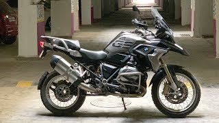 just got THIS BMW R1200 GS