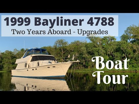 2 Years Aboard Y-Not - Modification & Upgrade Tour of our Bayliner 4788