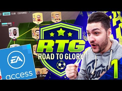 FIFA 20 EARLY ACCESS ROAD TO GLORY #1 - STARTER PACK & RIVALS GAMES!!! FIFA 20 ULTIMATE TEAM