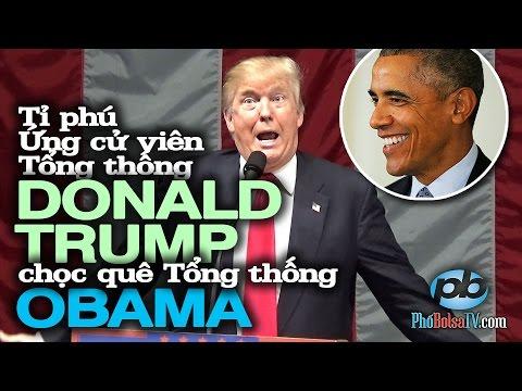 Tỉ phú Trump chọc quê TT Obama công du Cuba, Ả Rập không được lãnh tụ ra đón