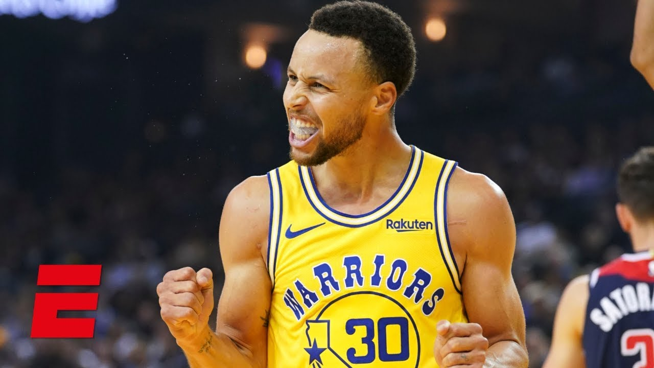 Steph Curry drops 51 points and hits 11 3's in Warriors win vs Wizards | NBA Highlights