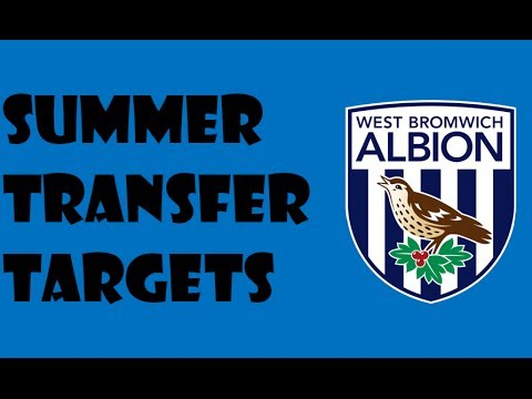 West Bromwich Albion Summer Transfer Targets 2014