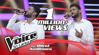Miyuru Somarathne | Sithin Ma Nosali Blind Auditions | The Voice Sri Lanka