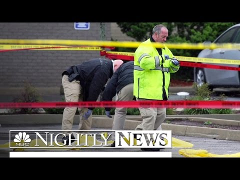 Boston Terror Suspect Wielding Large Knife Fatally Shot | NBC Nightly News
