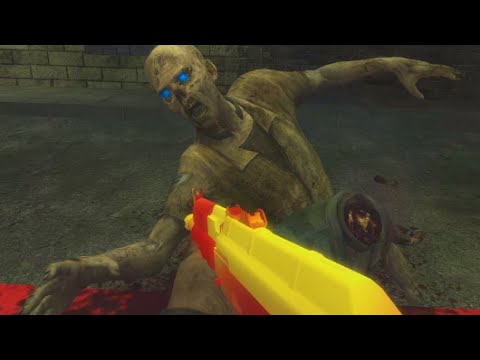 "FAST FOOD ZOMBIES - ""Call of Duty: Zombies"" MCDONALD'S World at War ""Custom Zombies"" Gameplay"