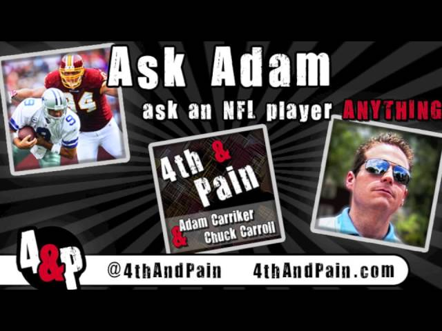 Adam Carriker Gives Take on Redskins 2013 Draft | Ask Adam on 4th & Pain