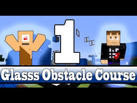 Minecraft Glasss Obstacle Course #1 - Daar zijn we weer!