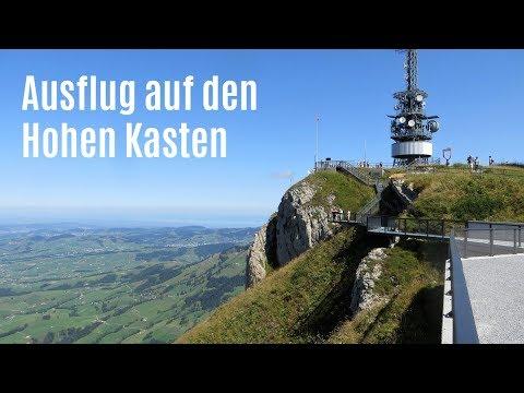 Ausflug auf den Hohen Kasten im Appenzellerland