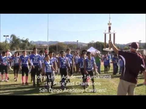 San Diego Academy Cavaliers Football Championship Season 2012