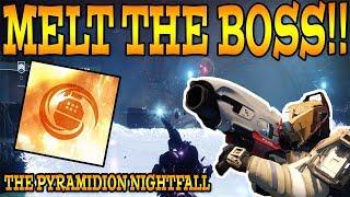 Destiny 2: THE PYRAMIDION NIGHTFALL! (New Modifier / How To Complete Nightfall (9/26/17)