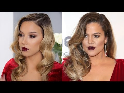 Khloe Kardashian Inspired Makeup Tutorial!