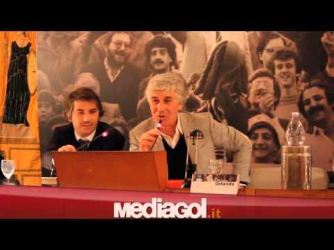 Gianpiero Gasperini ricorda il presidente del Palermo Renzo Barbera 20/12/2012 by Mediagol.it