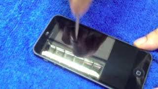 Sir Lancelot's Armor Holy Grail Screen Protector for iPhone 5 (Unboxing,Review & Scratch Test)
